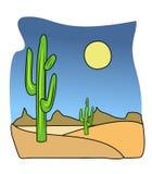 Cactus illustration Stock Images
