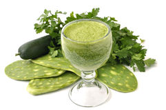 Cactus juice Royalty Free Stock Photos