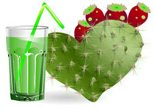 Cactus juice Stock Photos