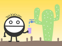 Cactus juice Royalty Free Stock Photography