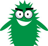 Cactus monster. Illustration of little cactus monster Royalty Free Stock Image