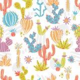 Cactus pattern_3 vector illustratie