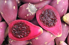 Cactus pears Stock Images