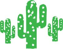 Cactus Trees Royalty Free Stock Photography