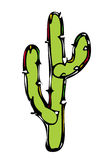 Cactus Vector Illustration Royalty Free Stock Photos