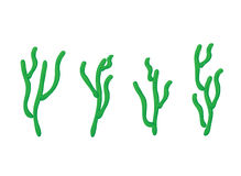 Cactus vector set Royalty Free Stock Image