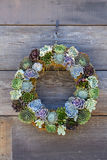 Cactus Wreath Stock Photo