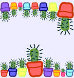 Cactuses Royalty Free Stock Images