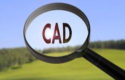 Cad-computergesützte Konstruktion lizenzfreies stockfoto