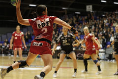 CAD d'Aalborg - Handball de FCM Images stock