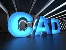 CAD - Datastödd design royaltyfri bild