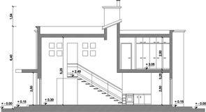 CAD-teckning vektor illustrationer
