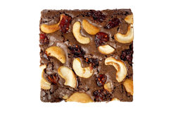 Cada das brownies Imagens de Stock