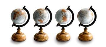 Cada mapa do mundo simula um tween fotografia de stock royalty free