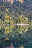Cada nel lago birkenhead, vicino a Whistler e a Pemberton, BC Fotografia Stock Libera da Diritti