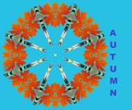 Cada outono do ano vem-nos ilustração do vetor