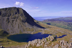 Cadair Idris. Mountain in Snowdonia National Park, Wales Royalty Free Stock Photography