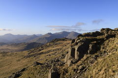 Cadair Idris Stockfoto