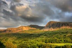 The cadair idris mountain range in snowdonia Royalty Free Stock Photos