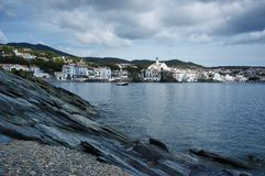 Cadaqués city view Royalty Free Stock Photography