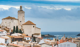 Cadaqués - μια όμορφη πόλη καλλιτεχνών στη μέση της ΚΑΠ de Στοκ φωτογραφία με δικαίωμα ελεύθερης χρήσης
