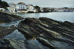 Cadaqués city view Royalty Free Stock Images