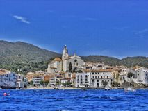 Cadaqués, a small coaster village stock image
