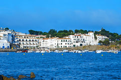 cadaques海岸西班牙 图库摄影