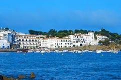 cadaques ακτή Ισπανία στοκ φωτογραφία