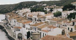 Cadaques, επαρχία Girona, Καταλωνία, Ισπανία απόθεμα βίντεο