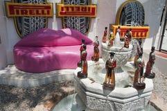 cadaques μουσείο Σαλβαδόρ Ισπ&alpha Στοκ Εικόνες