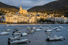 Cadaques Obrazy Royalty Free