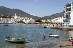 Cadaques beach, Catalonia Spain Royalty Free Stock Image