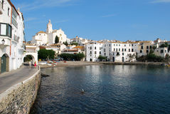 Cadaques in Catalonia Royalty Free Stock Photography