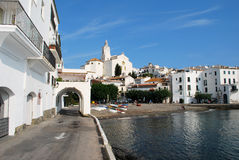 Cadaques on the Costa Brava Royalty Free Stock Image