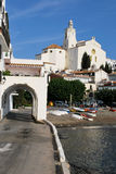 Cadaques on the Costa Brava in Catalonia Royalty Free Stock Image