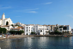 Cadaques on the Costa Brava coast Royalty Free Stock Photos