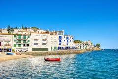 Cadaques, Costa Brava, España Fotos de archivo