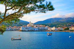 Cadaques, Costa Brava, Spain. Cadaques, a small town on the Costa Brava, Spain stock photos