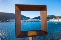 Cadaques en Costa Brava, Cataluña, España Foto de archivo libre de regalías