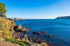 Cadaques en Costa Brava, Cataluña, España Fotos de archivo