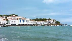 Cadaques-Küstenlinie, Costa Brava, Spanien stockfotos