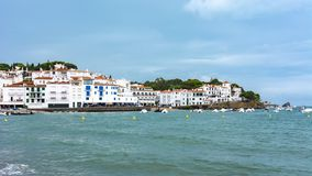Cadaques kustlinje, Costa Brava, Spanien arkivfoton