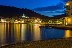Cadaques at night Stock Photo