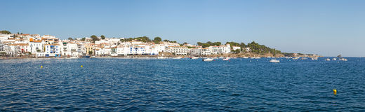 Cadaques Panorama Royalty Free Stock Photography