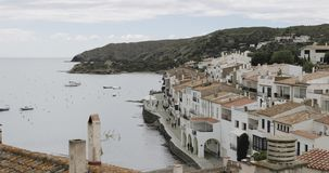Cadaques, Province Of Girona, Catalonia, Spain. Cadaques, Province Of Girona Catalonia Spain stock video footage