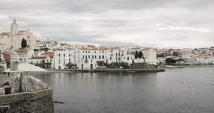 Cadaques, Province Of Girona, Catalonia, Spain. Cadaques, Province Of Girona, Catalonia Spain Panorama stock video footage