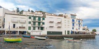 Cadaques, coastal village of the mediterranean sea - Catalonia, Royalty Free Stock Photos