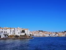 Cadaques, Spain. Cadaques - one of the most touristic towns of Costa Brava, Catalonia, Spain Stock Image