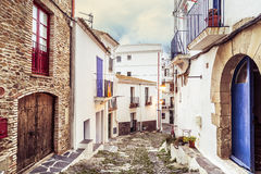 Cadaques streets Royalty Free Stock Photo